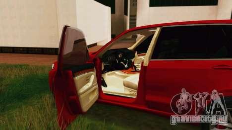BMW X5 F15 2014 для GTA San Andreas вид справа
