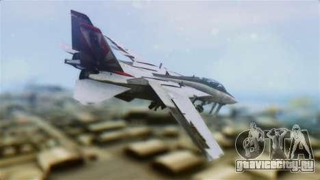 F-14A Tomcat VF-111 Sundowners High Visibility для GTA San Andreas вид слева