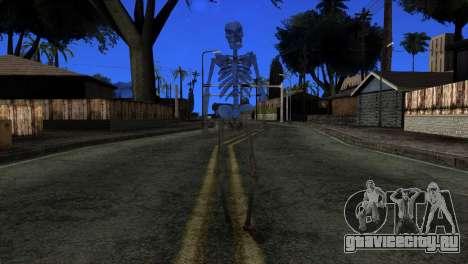 Skeleton Skin v3 для GTA San Andreas второй скриншот