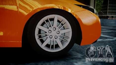 Renault Laguna Coupe для GTA 4 вид сзади слева
