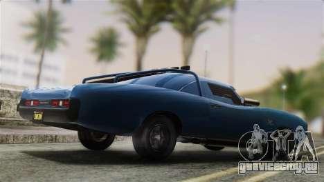 GTA 5 Imponte Dukes ODeath для GTA San Andreas вид слева