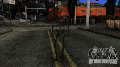 Skeleton Skin v3 для GTA San Andreas третий скриншот