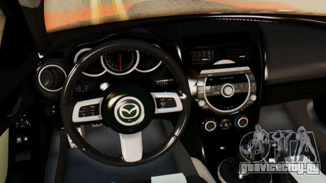 Mazda RX8 Drifter для GTA San Andreas вид справа