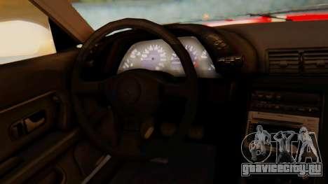 Nissan Skyline R32 Monster для GTA San Andreas вид справа