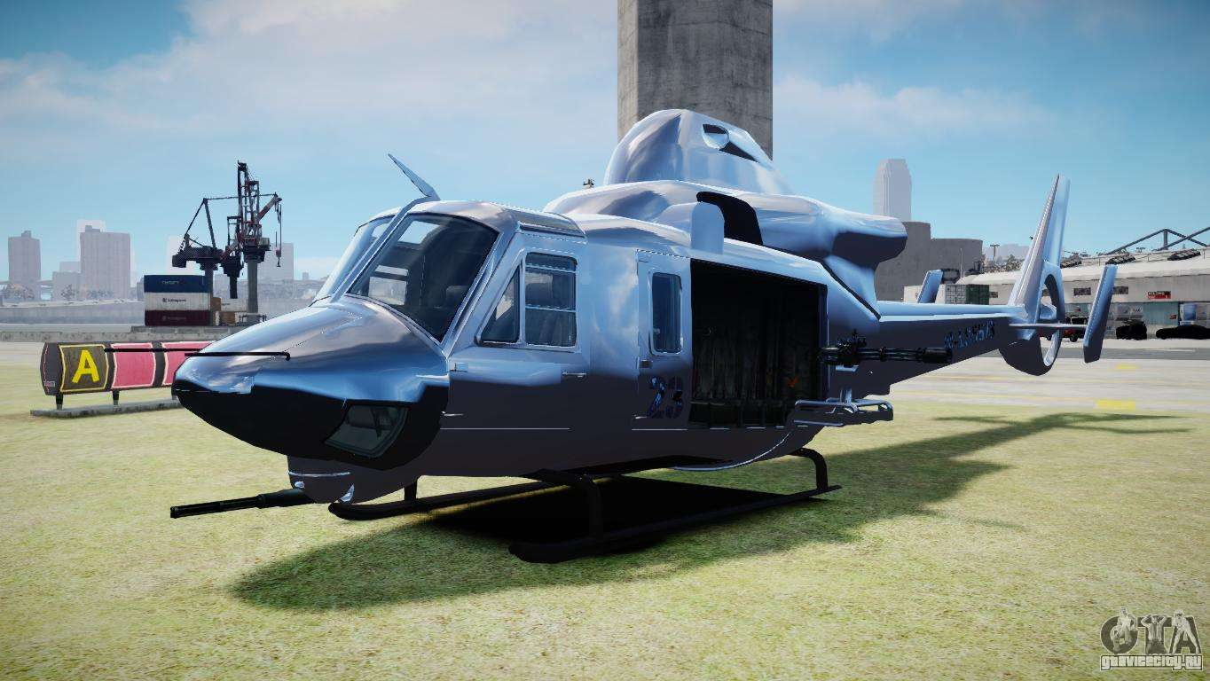 Valkyrie from GTA 5 для GTA 4