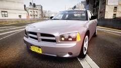 Dodge Charger Police Unmarked [ELS] для GTA 4
