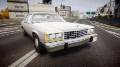 Ford LTD Crown Victoria 1987 Detective [ELS] v2 для GTA 4