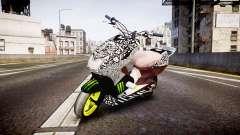 Yamaha Aerox Stunt