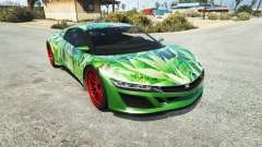 Dinka Jester (Racecar) Cannabis для GTA 5