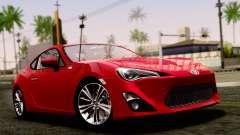 Toyota GT86 (ZN6) 2012 PJ для GTA San Andreas