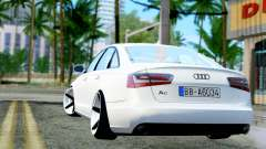 Audi A6 Stanced