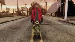 New Homeless Skin для GTA San Andreas