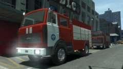 МАЗ 533702 МЧС России