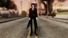 Sebastian Michaelis Kuroshitsuji для GTA San Andreas