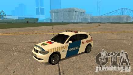 BMW 120i E87 Hungarian Police для GTA San Andreas