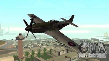 P-51D Mustang для GTA San Andreas
