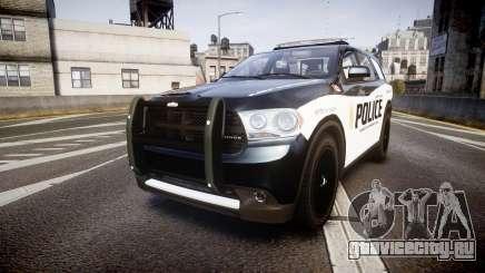Dodge Durango Alderney Police для GTA 4