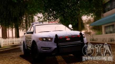 GTA 5 Vapid Police Interceptor v2 SA Style для GTA San Andreas