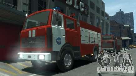 МАЗ 533702 МЧС России для GTA 4