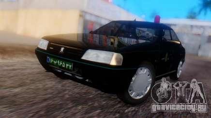 Peugeot 405 GLX Police для GTA San Andreas