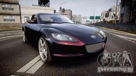 Mazda RX-8 2006 v3.2 Pirelli tires для GTA 4