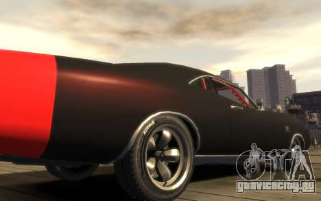 Dukes Impulse Daytona Tuning для GTA 4 вид сзади