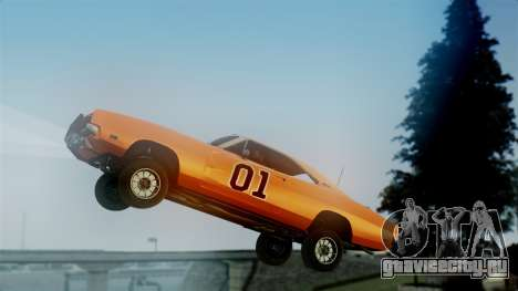 Dodge Charger General Lee для GTA San Andreas