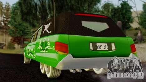 Hounfor from Saints Row 2 для GTA San Andreas вид слева