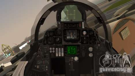 F-14B Bombcat VF-11 Red Rippers для GTA San Andreas вид сзади