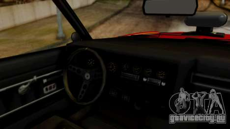 GTA 5 Albany Virgo для GTA San Andreas вид сзади