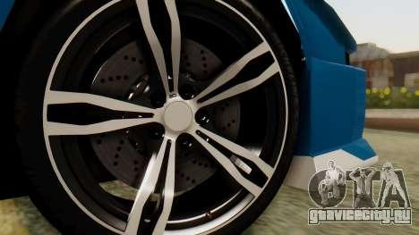 Infernus BMW Revolution для GTA San Andreas вид сзади слева