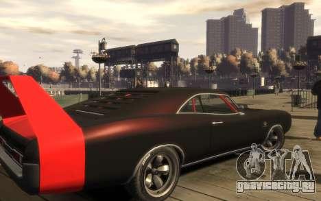 Dukes Impulse Daytona Tuning для GTA 4 вид сзади слева