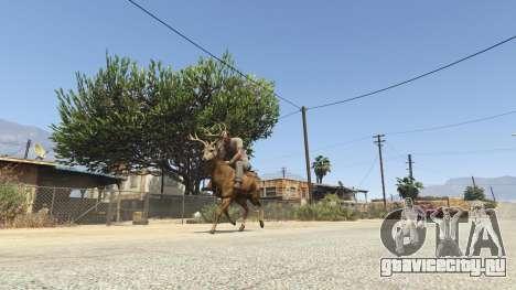 Ride A Deer [.NET] 0.2b для GTA 5
