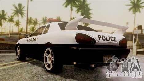 Elegy Saitama Prefectural Police для GTA San Andreas вид слева