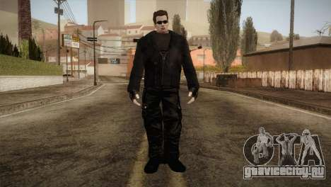 Arnold T-850 Skin для GTA San Andreas второй скриншот