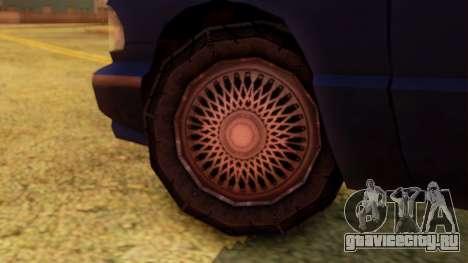 Premier Truck для GTA San Andreas вид сзади слева