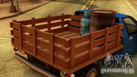 Premier Country Pickup для GTA San Andreas вид справа