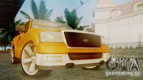 Ford F-150 Sport для GTA San Andreas