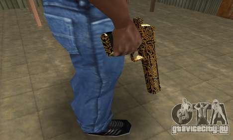 Microshem Deagle для GTA San Andreas