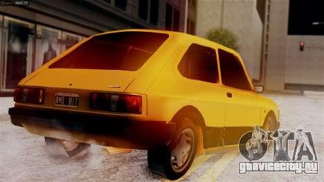 Fiat 147 Al Piso для GTA San Andreas вид слева