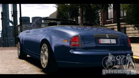 Rolls-Royce Phantom 2013 Coupe v1.0 для GTA 4 вид слева
