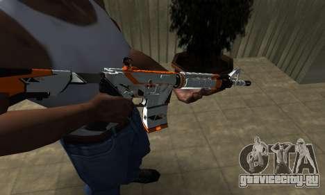 M4 Asiimov для GTA San Andreas