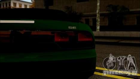 Nissan 240SX S13 для GTA San Andreas вид сзади