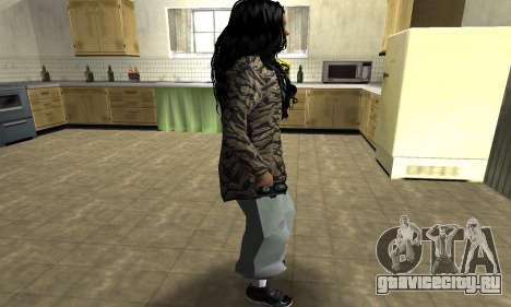 Cool Tokio Girl для GTA San Andreas второй скриншот