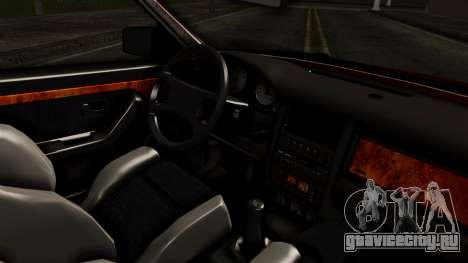 Audi 200 Quattro для GTA San Andreas вид справа