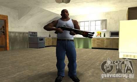 Flame Shotgun для GTA San Andreas третий скриншот