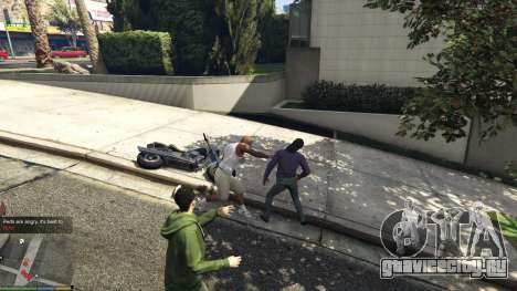 AngryPeds для GTA 5 второй скриншот