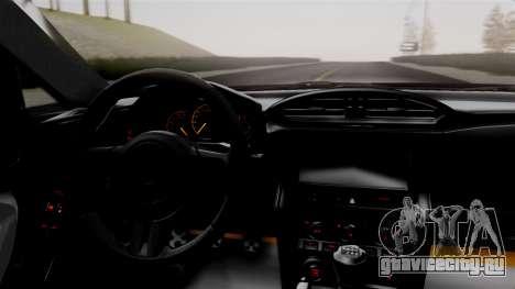 Toyota GT86 PJ для GTA San Andreas вид справа