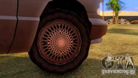 Premier Utility Van для GTA San Andreas вид сзади слева