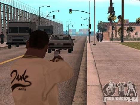 Cleo Weapon Zoom для GTA San Andreas второй скриншот